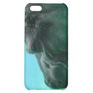 Swimming Hippo iPhone 4 Case