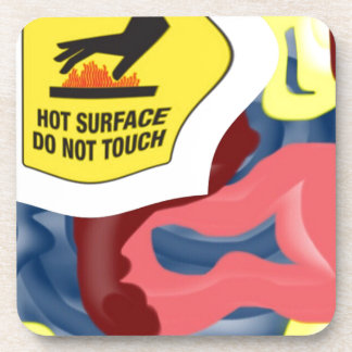 Swimming Hot Surface Drink Coasters