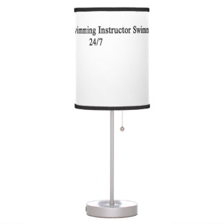 Swimming Instructor 24/7 Table Lamps