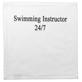 Swimming Instructor 24/7 Napkin