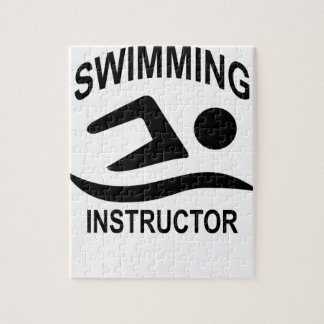 Swimming Instructor T Shirt.png Jigsaw Puzzles