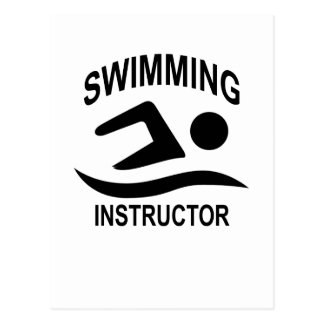 Swimming Instructor T Shirt.png Postcard