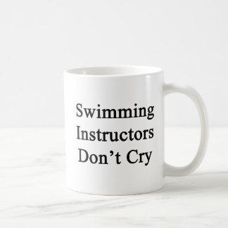 Swimming Instructors Don't Cry Mug