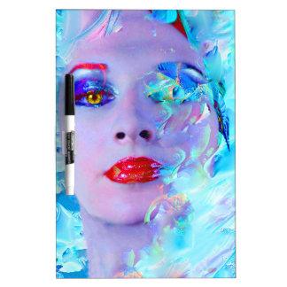 Swimming into the Blue Dry Erase Board