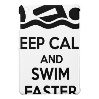 swimming iPad mini cover