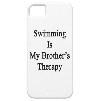 Swimming Is My Brother s Therapy iPhone 5/5S Cover