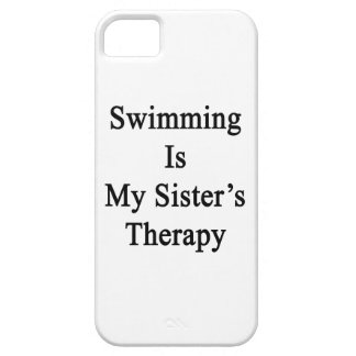 Swimming Is My Sister s Therapy Cover For iPhone 5/5S