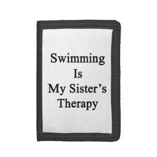 Swimming Is My Sister s Therapy Wallets