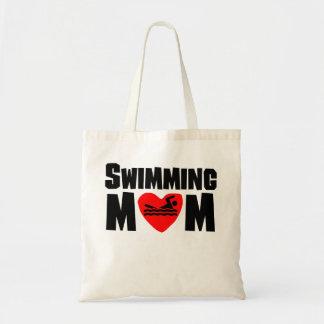 Swimming Mom Tote Bag
