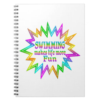 Swimming More Fun Notebook