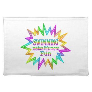 Swimming More Fun Placemat