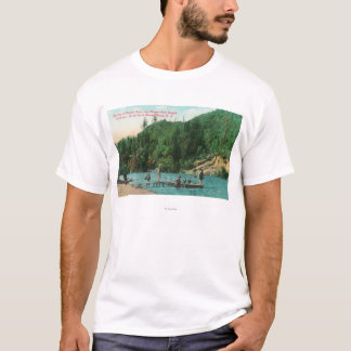 Swimming Near the Dock on the Russian River T-Shirt