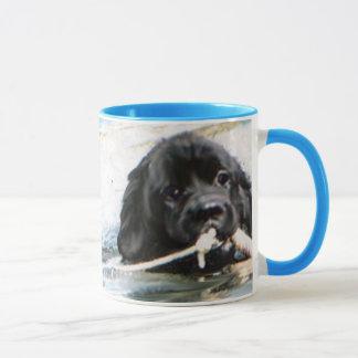 swimming newfs mug