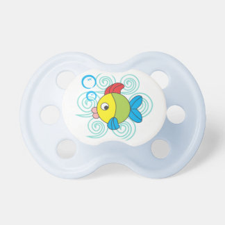 Swimming on the waves pacifier