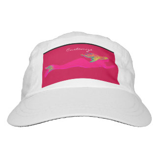 swimming pink mermaid hat