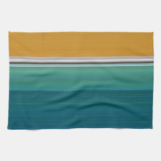 Swimming Pool Abstract Kitchen Towel