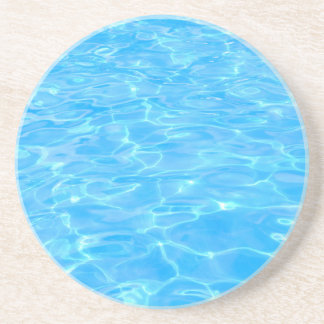 Swimming pool beverage coasters