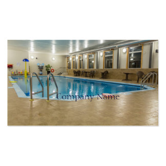 Swimming Pool Double-Sided Standard Business Cards (Pack Of 100)