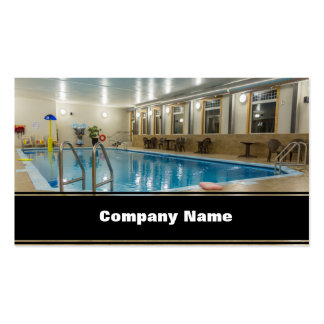 Swimming Pool Business Card