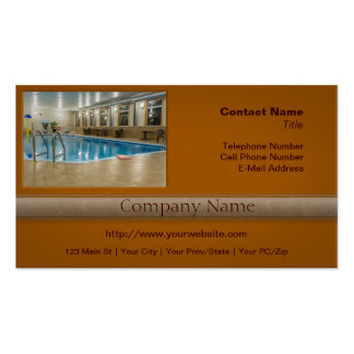 Swimming Pool Business Card Template