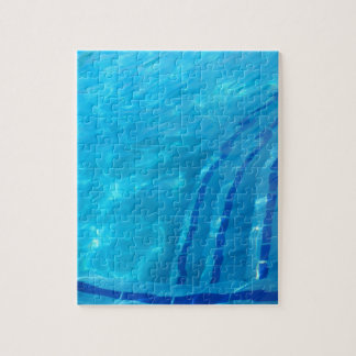 Swimming pool jigsaw puzzle
