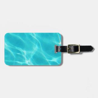 Swimming Pool Luggage Tag