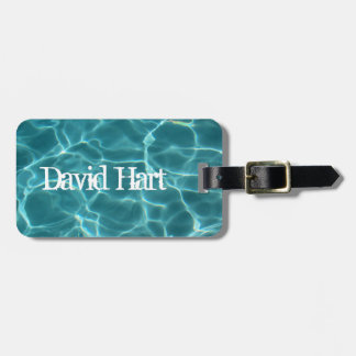 Swimming Pool Luggage Tag