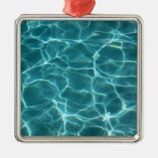 Swimming Pool Metal Ornament
