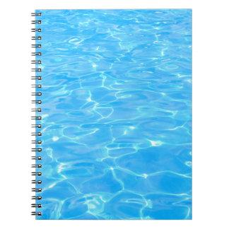 Swimming pool notebooks
