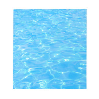Swimming pool notepad