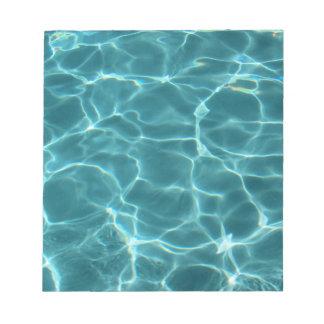 Swimming Pool Notepad