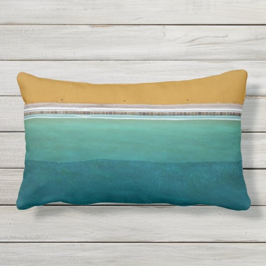 Swimming Pool Outdoor Pillow