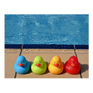 Swimming Pool Postcard