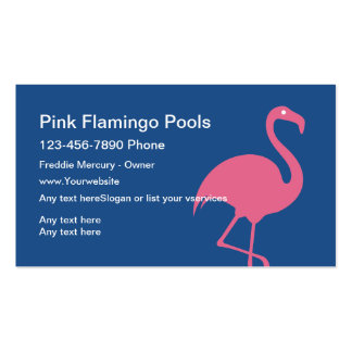 Swimming Pool Service Business Cards Pack Of Standard Business Cards