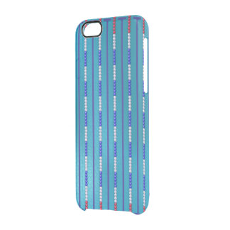 Swimming Pool Swimmer Clear iPhone 6/6S Case