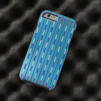 Swimming Pool Swimmer Tough iPhone 6 Case