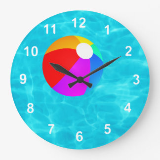 Swimming Pool. Wallclocks
