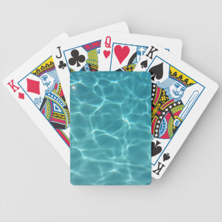 Swimming Pool Water Bicycle Playing Cards