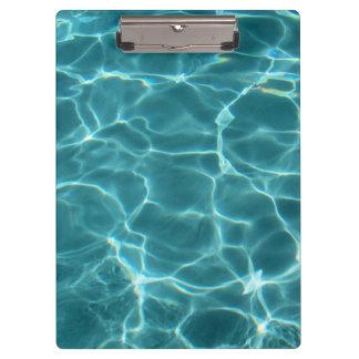 Swimming Pool Water Clipboard