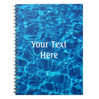 Swimming Pool Water Notebook