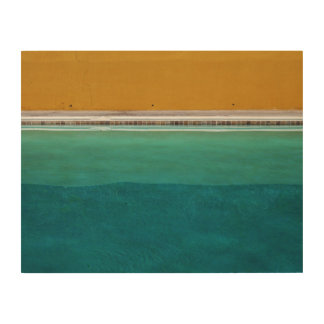 Swimming Pool Wood Canvases