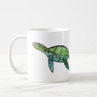 Swimming Sea turtle Coffee Mug