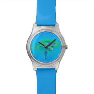 Swimming Sea Turtle Wristwatch