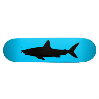 Swimming Shark Custom Skateboard