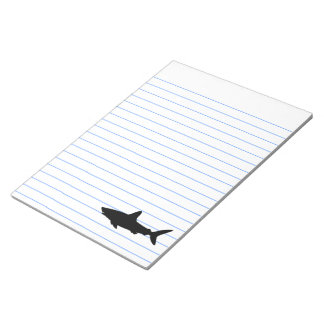 Swimming Shark Notepads