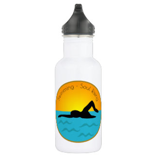 Swimming Soul Rising 532 Ml Water Bottle