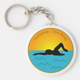 Swimming Soul Rising Keychain
