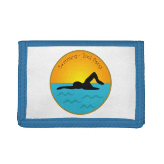 Swimming Soul Rising Trifold Wallet