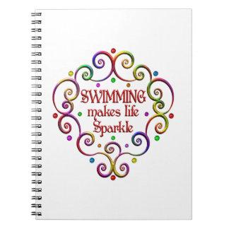 Swimming Sparkles Note Books