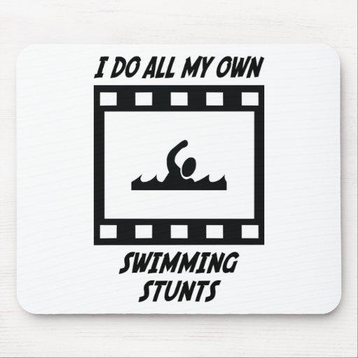 Swimming Stunts Mouse Mats